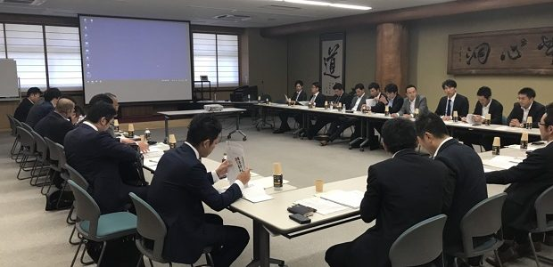 鹿児島県建設業青年部会と秋田建設業協会青年部との意見交換会