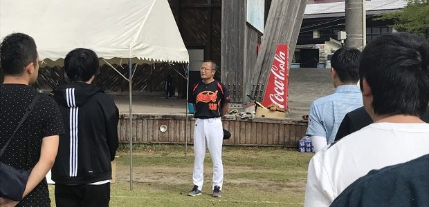 鹿児島県建設業青年部会ソフトボール大会in溝辺