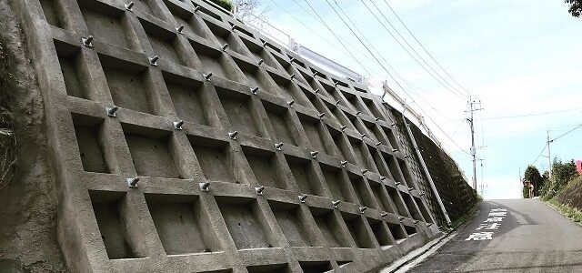 旧国道線災害復旧工事
